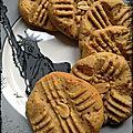 { new york food } cookies au beurre de cacahuètes
