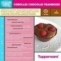 Corolles chocolat framboise