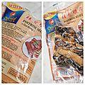 Riz sauté aux légumes et poitrine de porc séchée