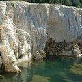 les cascades du sautadet : le canyon