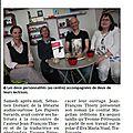 Est Républicain, Les Papiers Bavards, 30 mai 2014