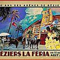 Béziers - cartels de la feria 2017