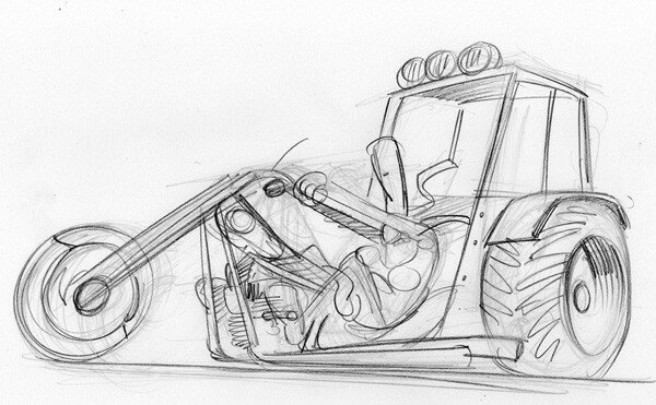 Harley Fergusson - CROQUIS 1