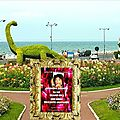 Joëlle ortega-valverde à villers sur mer entre deauville et cabourg au salon du livre parrain claude lelouch