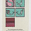 Sirènes de bestiaire page 52 dans la revue L'impossible n°5 juillet 2012