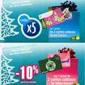 Promotions cartes cadeaux chez <b>GEANT</b> <b>CASINO</b>