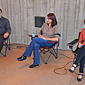 Avec marie-laure bigand, anne-lyse blasco & dominick
