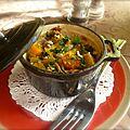Cocotte de légumes-racines, poires et miso