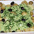 patates & olives - sauce verte