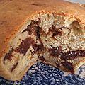 Cake à la pâte de dattes