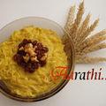 Semiya payasam with saffron - kerala special.