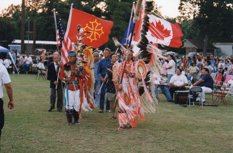 au pow-wow intertribal de Tulsa en 1995
