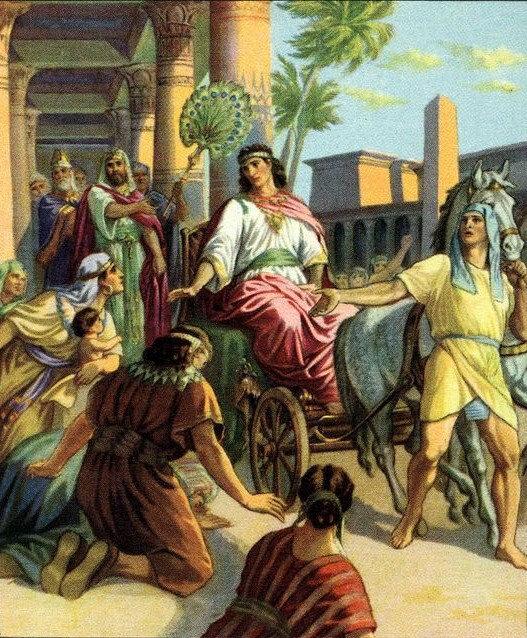 Joseph vice Roi d'Égypte