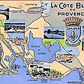 La Côte bleue de Provence