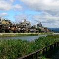 Au milieu de kyoto, coule une rivière ... la rivière aux canards (kamo-gawa) ...