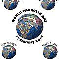 Journée internationale des pangolins le 15 février 2014
