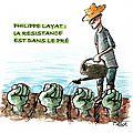 Soutien à philippe layat, exproprié par le grand lyon