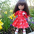 Petites robes de printemps pour ten ping 20 cm,plus disponibles