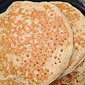 Pancakes... des mini crèpes version anglo-saxonne!