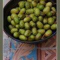 Les olives cassées de la vallée des baux...