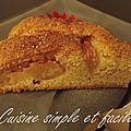 Gâteau aux pommes tout doux