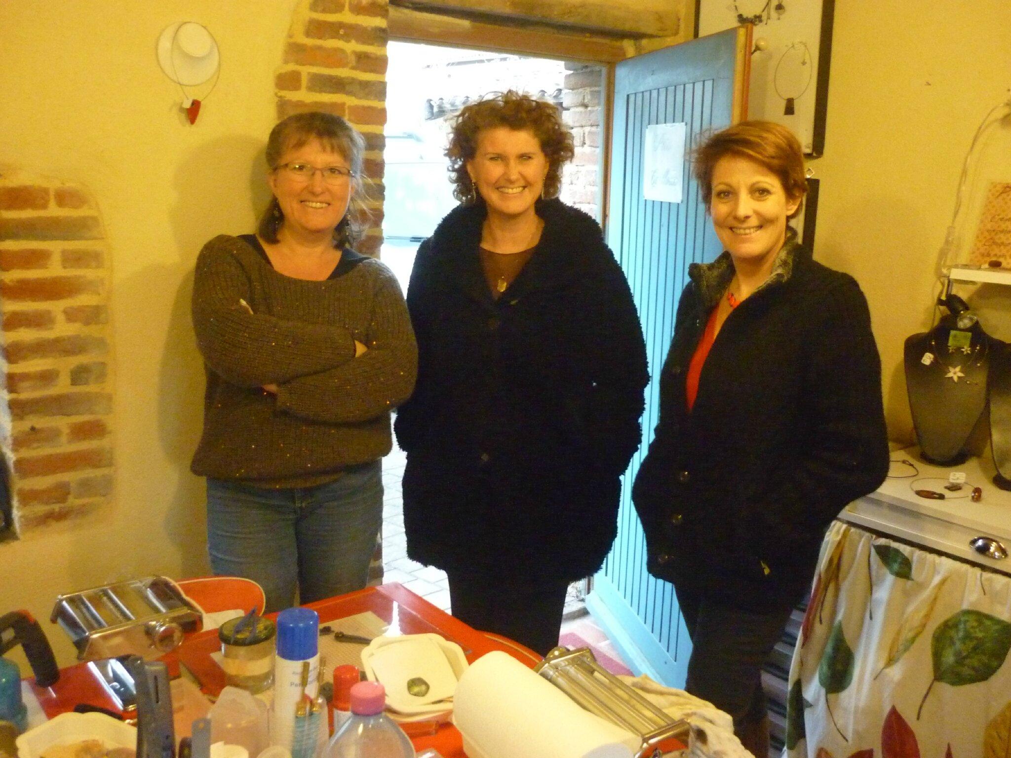 Luce, Anne et Olga, mars 2015