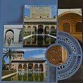 L'alhambra de grenade ; pages réalisées avec le gabarit londres rio