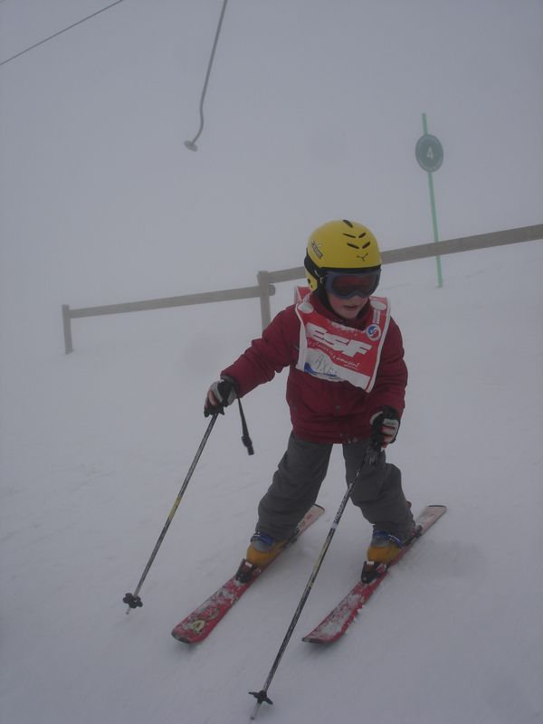 Axel:2°étoile au ski -Février 2009