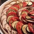Tarte aubergine, courgettes et tomates - by claire -