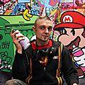 Street artist <b>Speedy</b> <b>Graphito</b>