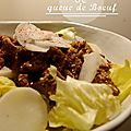°salade de queue de boeuf, selon thierry marx°