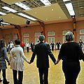 Première répétition de danse de l'<b>époque</b> XIXème pour la fête