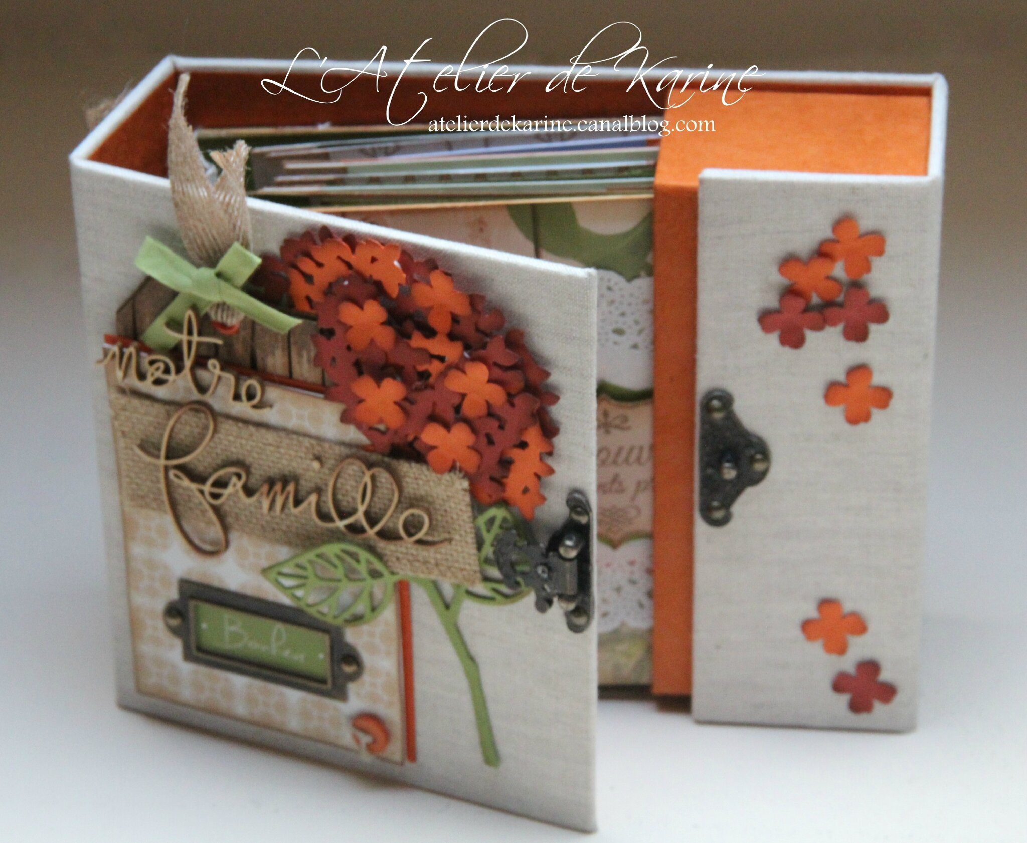 Mini Album et son coffret - Pure Lorelaïl Design 11