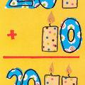 Carte d'anniversaire 10 ans
