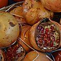 La grenade : un fruit de saison