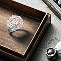 A Coloured <b>Diamond</b> and <b>Diamond</b> Ring