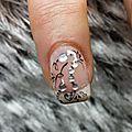 Passion'nail pose d'ongles en gel: strass et tourbillon