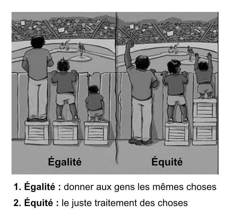 Egalité - équité