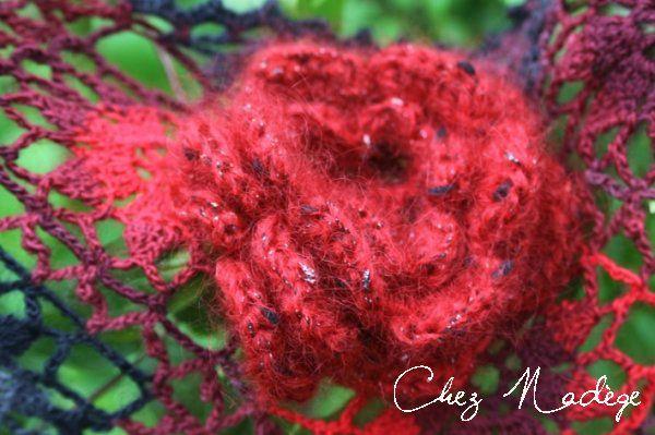 broche crochet irlandais