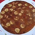 Gâteau chocolat-banane au baileys
