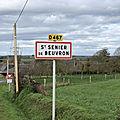 Saint-Senier-de-Beuvron: quand les puissants de ce monde croient pouvoir disposer de notre Normandie à leur guise...