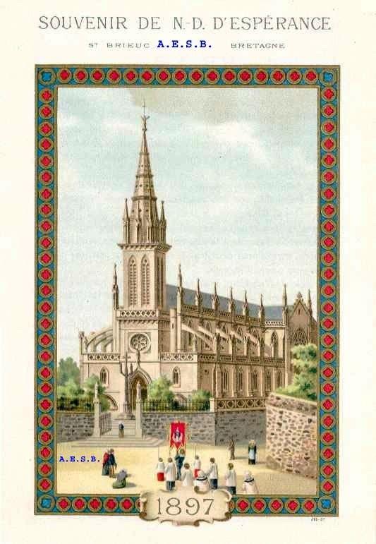 Saint Brieuc, Basilique Notre Dame d'Espérance