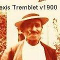 Alexis Tremblet vers 1900.