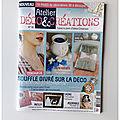 Cam&Drey dans le <b>magazine</b> Atelier Déco&Création