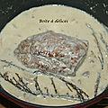 Filet mignon moutarde-champignons