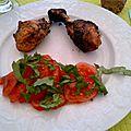 Pilons de Poulet marinés au <b>Barbecue</b>