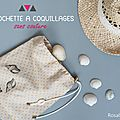 ★ diy ★ la pochette à coquillages