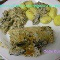 Escalopes de Dinde sauce crème champignons