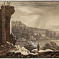 Snite Museum of Art features four centuries of European landscape drawings