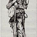 Tissot (James) Portrait de Bastien Pradel de Figeac (1870), souvenir du siège de Paris